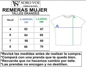 1 REMERAS MUJER TALLES GRANDES 300x233 - Remera Oriental 2 Mujer.Talles Grandes