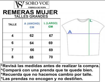 1 REMERAS MUJER TALLES GRANDES 416x324 - Remera Oriental 2 Mujer.Talles Grandes